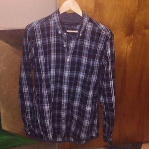 Tommy Hilfiger Blue/Green Plaid Shirt